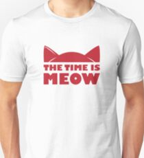 Time Is Meow T-Shirt