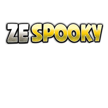ZeSpooky Shirt by RainbowMeteors