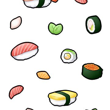 Not enough sushi!!! by HappyApple