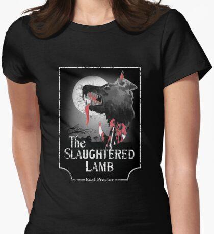 Amerikanischer Werwolf in London - Distressed White-Variante T-Shirt