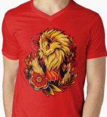 Arcanine Men's V-Neck T-Shirt