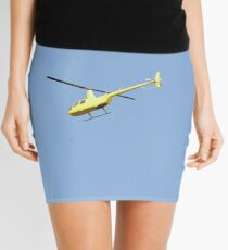 Yellow R44 Helicopter Mini Skirt