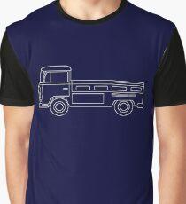 VW T2 Single Cab Blueprint Graphic T-Shirt