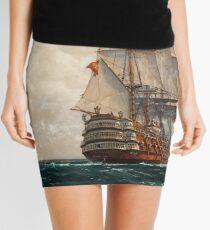 At Sea Mini Skirt