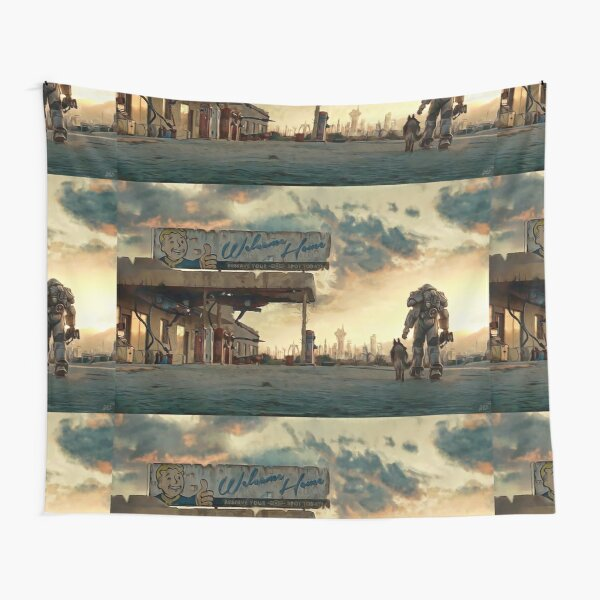 The Wanderer  Tapestry