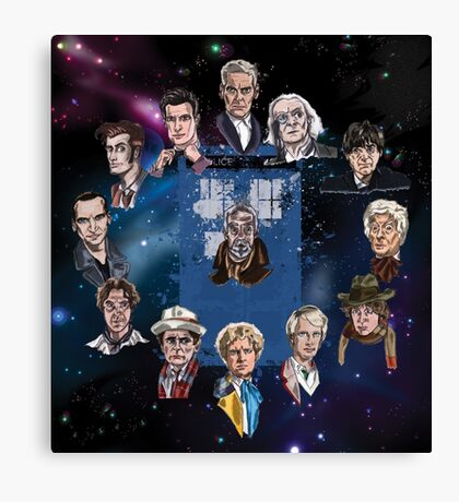 Lords of Time Canvas Print