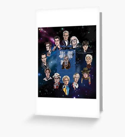 Lords of Time Greeting Card