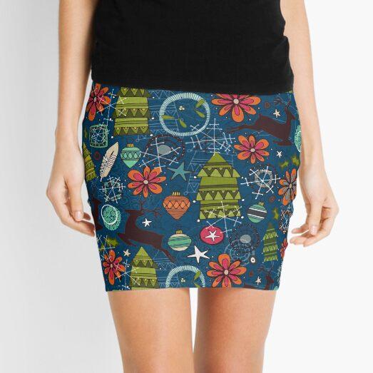 joyous jumble indigo Mini Skirt