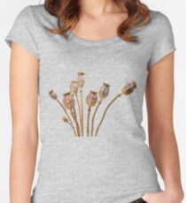 Poppy straw Women's Fitted Scoop T-Shirt