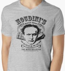 Houdini's Magic Shop Men's V-Neck T-Shirt