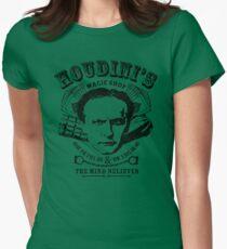 Houdini's Magic Shop Womens Fitted T-Shirt