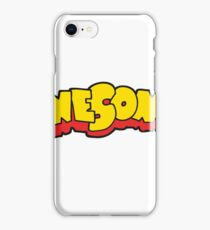 awesome cartoon iPhone Case/Skin