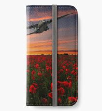 Big Boy Over The Poppy Fields iPhone Wallet/Case/Skin