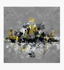 Cityscape Abstract Painting Photographic Print