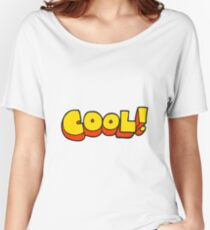 cool cartoon symbol Women's Relaxed Fit T-Shirt