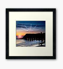Reds Scarborough Dawn Framed Print