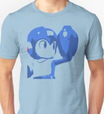 The Blue (and cyan) Bomber Unisex T-Shirt