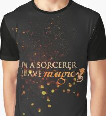 Quote - I have Magic - Merlin  Graphic T-Shirt