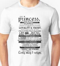 I Am a Princess Unisex T-Shirt