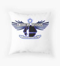 Super Smash Bros. American Division Throw Pillow
