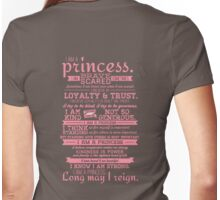I Am a Princess (version 2) Womens Fitted T-Shirt