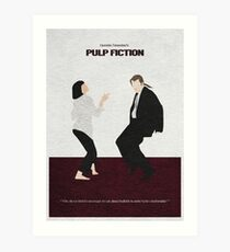 Pulp Fiktion 2 Kunstdruck