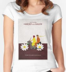 Harold and Maude Women's Fitted Scoop T-Shirt