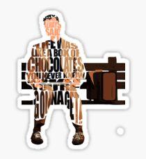 Forrest Gump Sticker