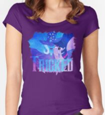 Trick-ed Women's Fitted Scoop T-Shirt