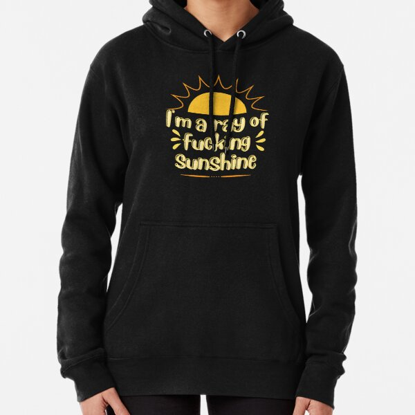 I'm a ray of fucking sunshine .. Pullover Hoodie