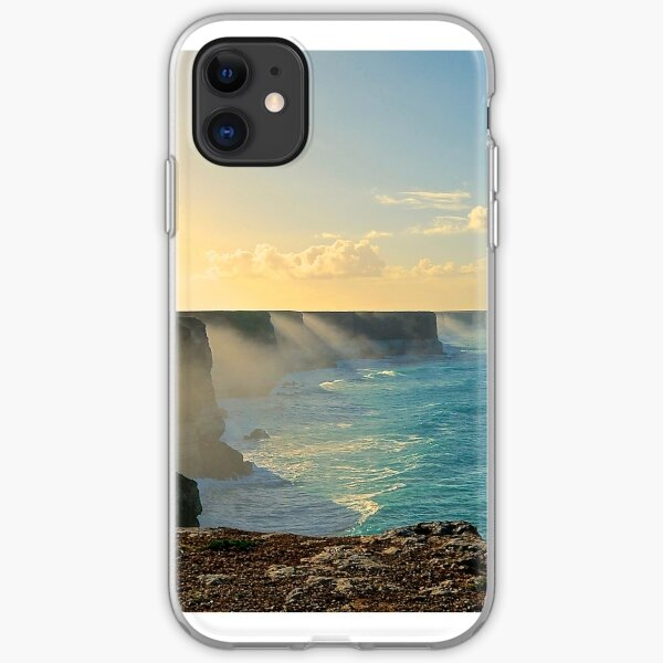 The Great Australian Bight. iPhone Soft Case