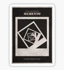 Memento Sticker