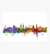 Belfast Northern Ireland Skyline Photographic Print