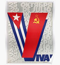 Soviet Propaganda - Viva Cuba! (1983) Poster