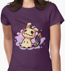 Mimikyu Pokémon Sol y Luna / Mimikyu Pokemon Sun and Moon Womens Fitted T-Shirt
