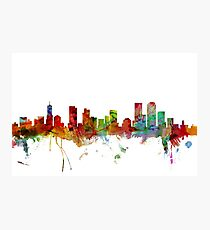 Denver Colorado Skyline Photographic Print