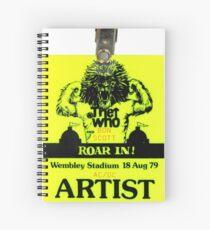 Roar In Spiral Notebook