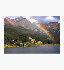 Trout Lake, Co - Over The Rainbow Photographic Print