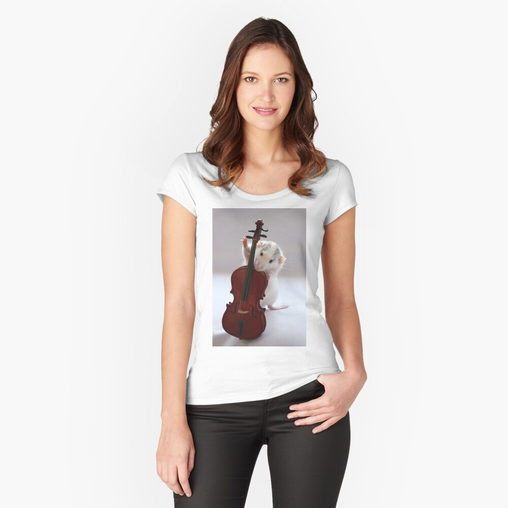 The Musician 2 Fitted Scoop T-Shirt