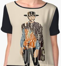 Blondie - The Good, The Bad and The Ugly Women's Chiffon Top