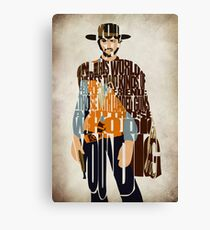 Blondie - The Good, The Bad and The Ugly Canvas Print