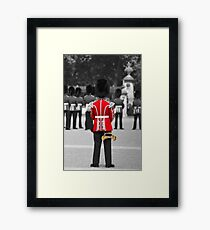 Red Jacket and Bugle Framed Print