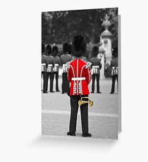 Red Jacket and Bugle Greeting Card