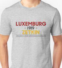 Rosa Luxemburg - Clara Zetkin - 1919  Unisex T-Shirt