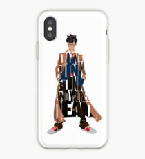 Tenth Doctor iPhone Case