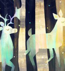Ghost Deer Sticker