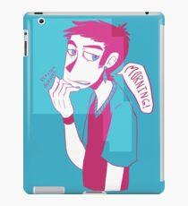 Pen work 3 iPad Case/Skin