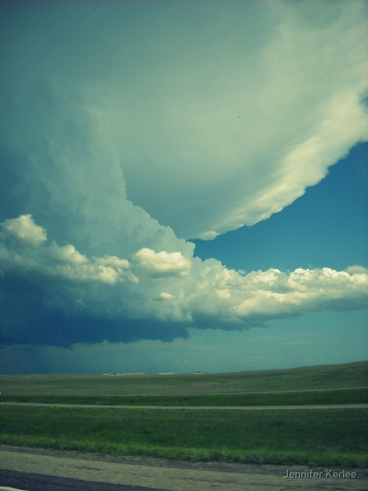 Tornado On Its Way. by Jennifer Bishop