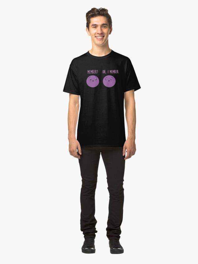 Alternative Ansicht von Mitglied Beeren: Mitglied Berry Southpark Fanart Print Classic T-Shirt