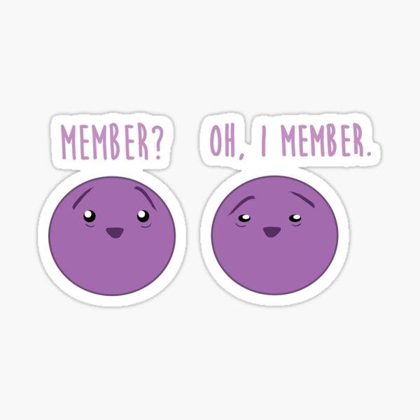 Je suis membre. Sticker
